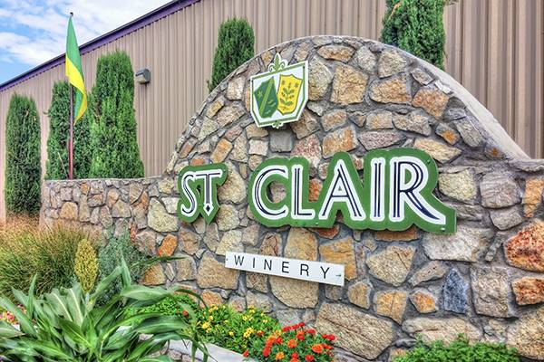 St. Clair Winery New Mexico Deming things to do local winery local beer bar
