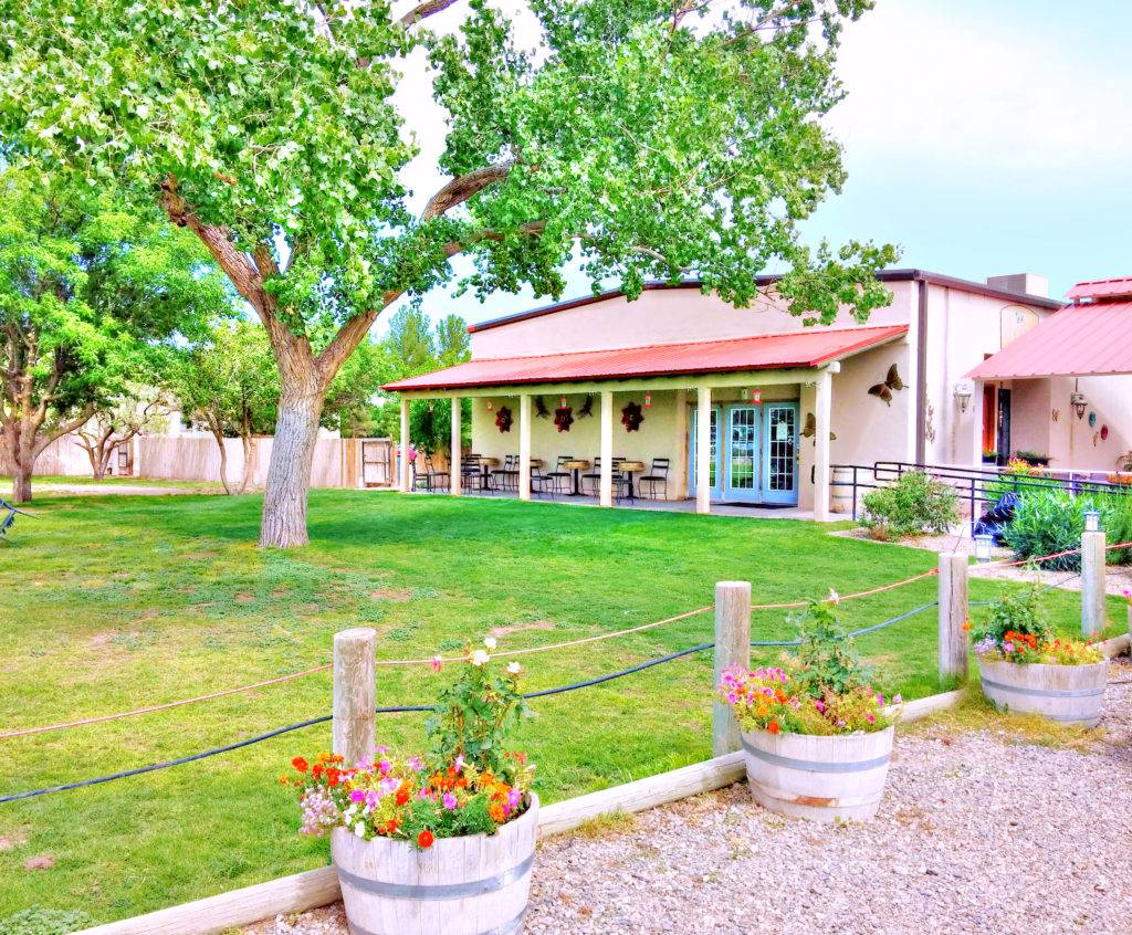 St. Clair Winery Tasting Room Deming local wine craft beer largest winery in New Mexico live music things to do in Deming