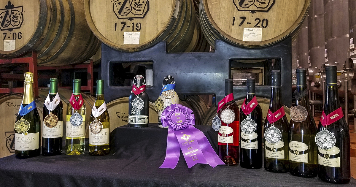 lescombes family makes award winning wines in new mexico