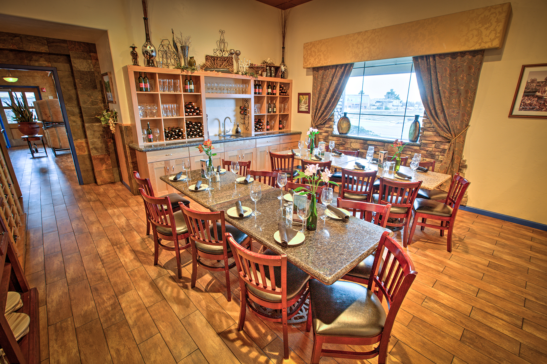 Our Wine Tasting Room is a perfect event space to host small gatherings and private events.