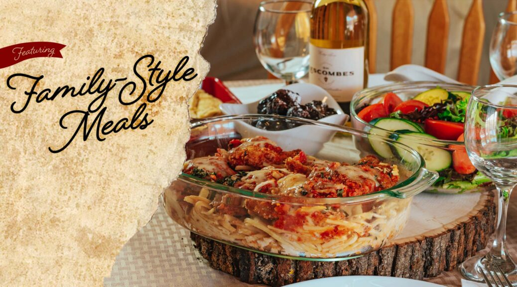 family-style meals in Las Cruces and Albuquerque at D.H. Lescombes Winery & Bistro