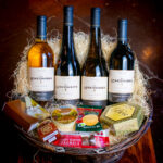 Deluxe New Mexico Wine 4 bottle gift basket