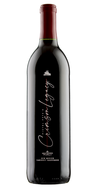Pistol Pete's Crimson Legacy, officially licensed by New Mexico State University Aggies wine