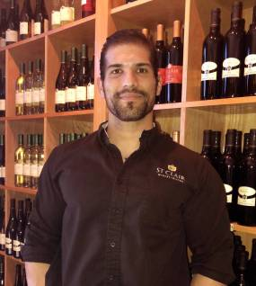 Thomas Perez, General Manager at D.H. Lescombes Winery & Bistro, our Las Cruces restaurant and winery location