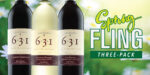 Spring Fling 3-pack of D.H. Lescombes 631 Signature Series wines grown produced and bottled in New Mexico