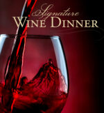 signature wine dinner event at D.H. Lescombes Winery & Bistro in Alamogordo, Las Cruces, Santa Fe, and Albuquerque